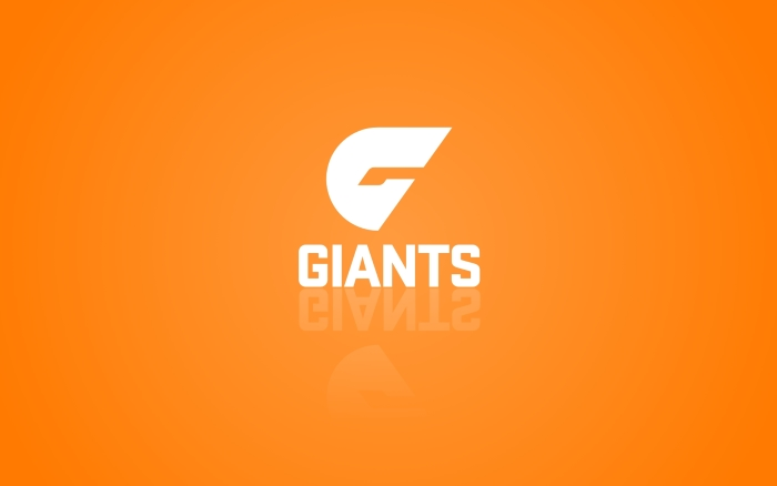 Giants GWS wallpaper (Greater Western-Sydney Giants) orange desktop background 1920x1200px