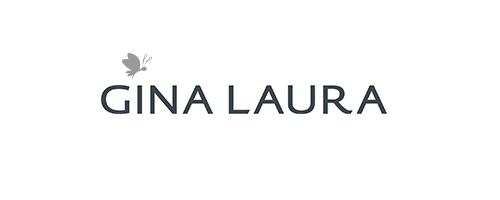 Gina Laura logo, logotype