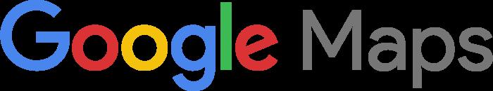 Google Maps logo, wordmark