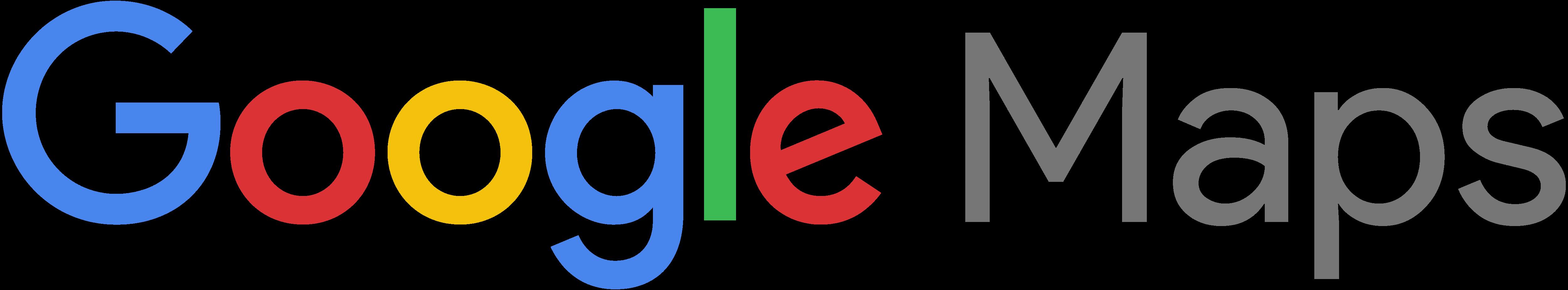 google maps – logos download - google maps logo wordmark