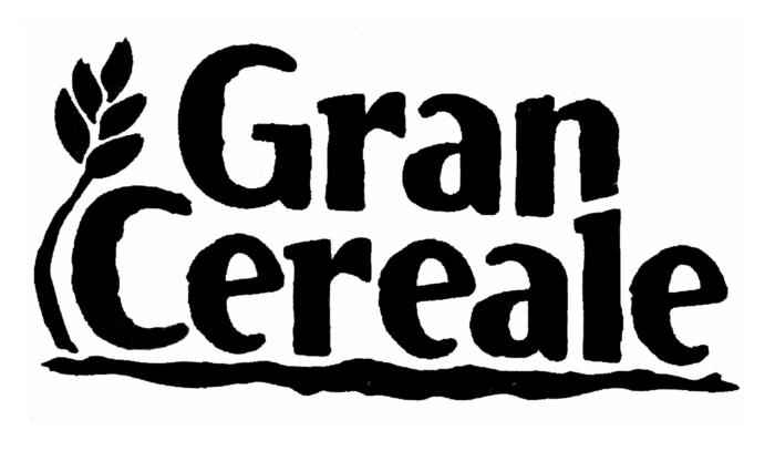 Gran Cereale logo, black