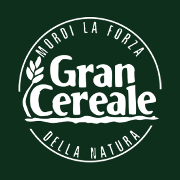 Gran Cereale logo, circle white emblem