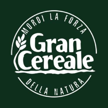 Gran Cereale logo, circle white emblem