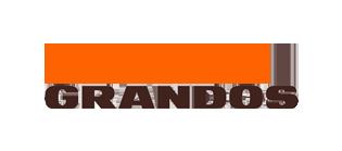 Grandos cafe logo, logotype