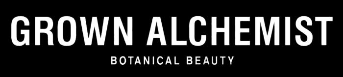 Grown Alchemist logo, logotype, black