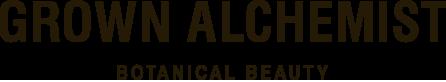 Grown Alchemist logo, transparent