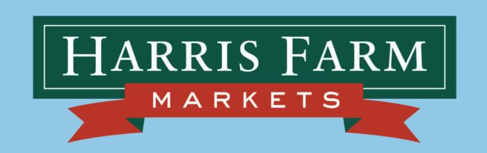 Harris Farm Markets logo, blue bg