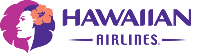 Hawaiian Airlines logo, white background