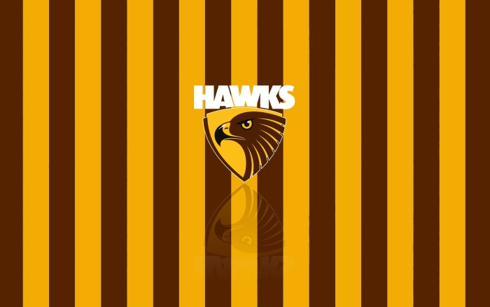 Hawthorn Hawks FC wallpaper with team logo, widescreen desktop background 1920x1200px