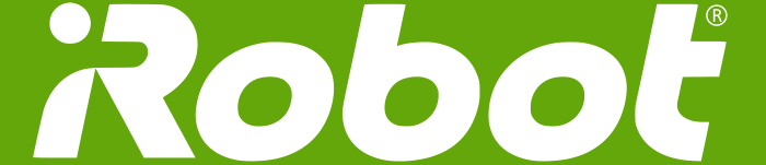 iRobot logo, green background