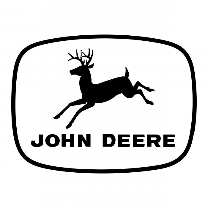 John Deere logo down