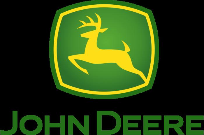 John Deere logo, emblem, symbol