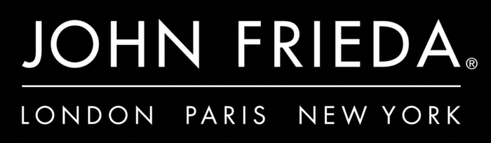 John Frieda logo, black