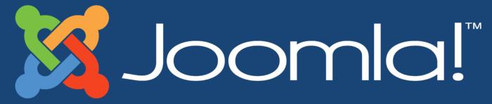 Joomla logo, blue