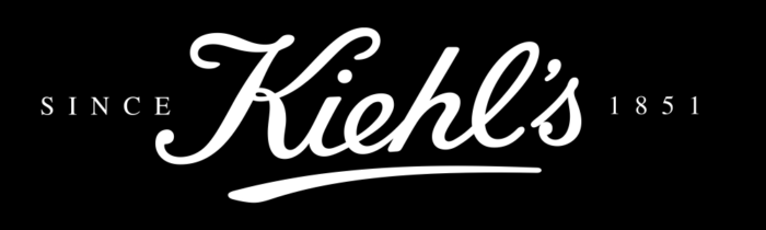 Kiehls logo, logotype, black
