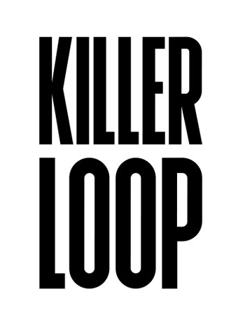Killer Loop logo, white bg