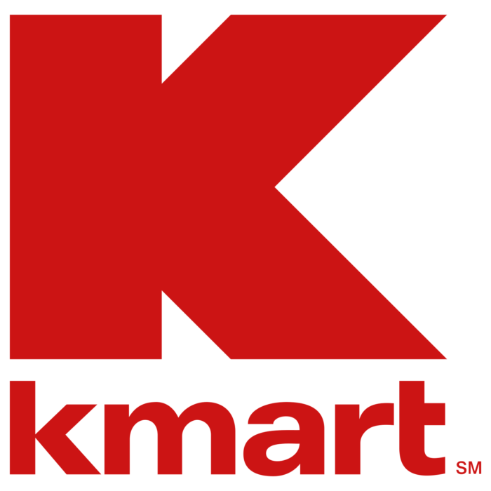 Kmart logo, red