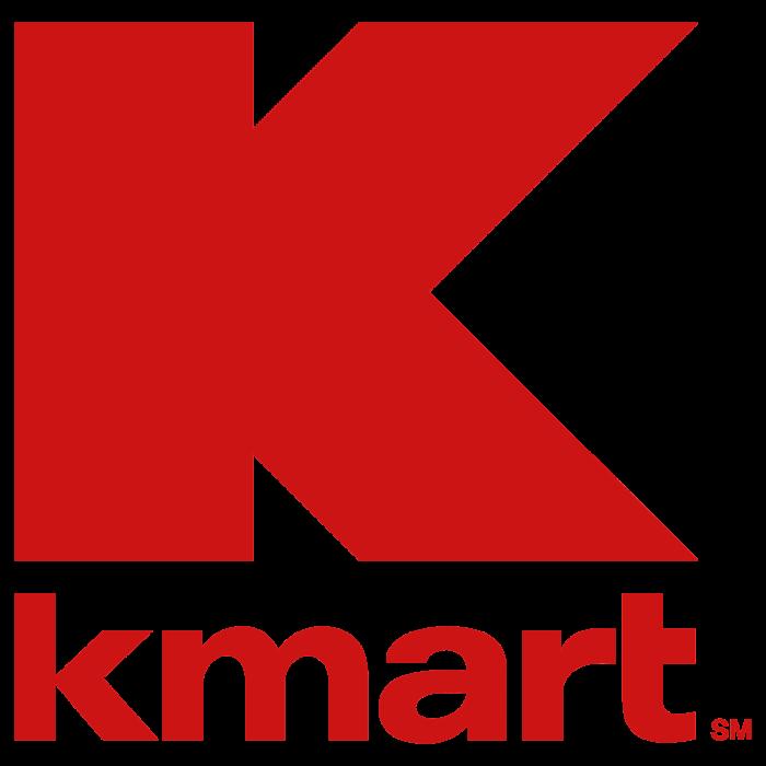 Kmart logo, red