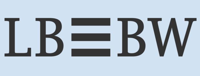 LBBW logo, blue