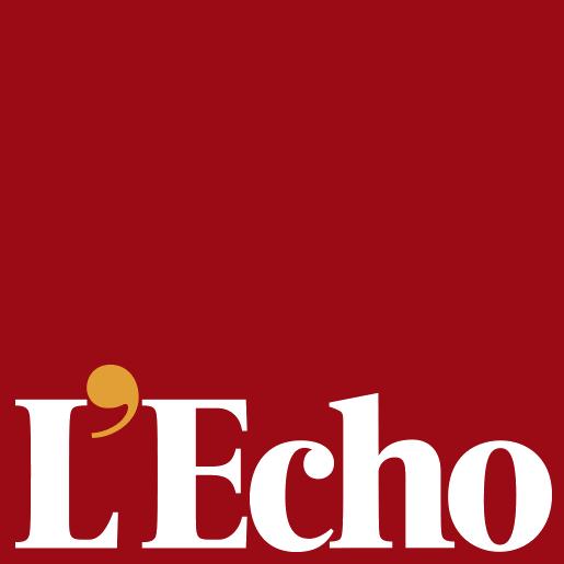 L'Écho logo, logotype (Echo de la Bourse)