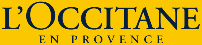 L'Occitane en Provence logo, logotype, yellow