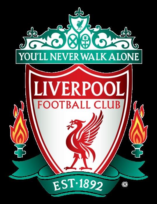 Liverpool FC logo, gradient