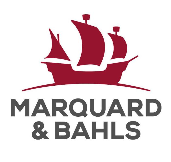 Marquard & Bahls logo, logotype