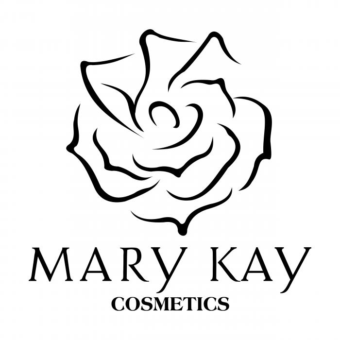 Mary Kay Cosmetics logo black