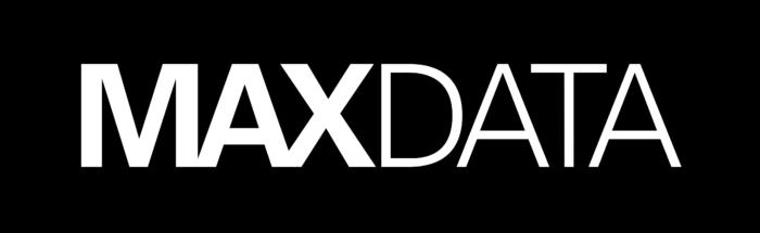 Maxdata logo, wordmark