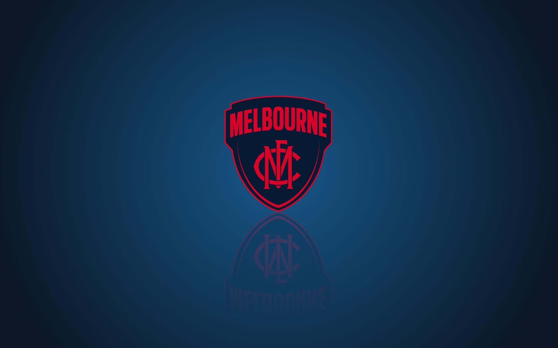 Melbourne Demons FC Wallpaper With Team Logo 1920x1200
