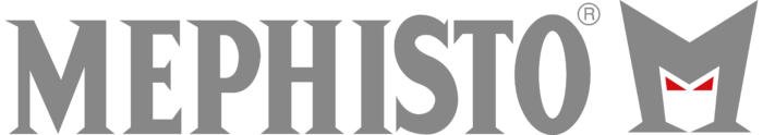 Mephisto logo, gray