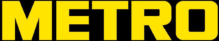 Metro Cash & Carry logo (yellow-white)