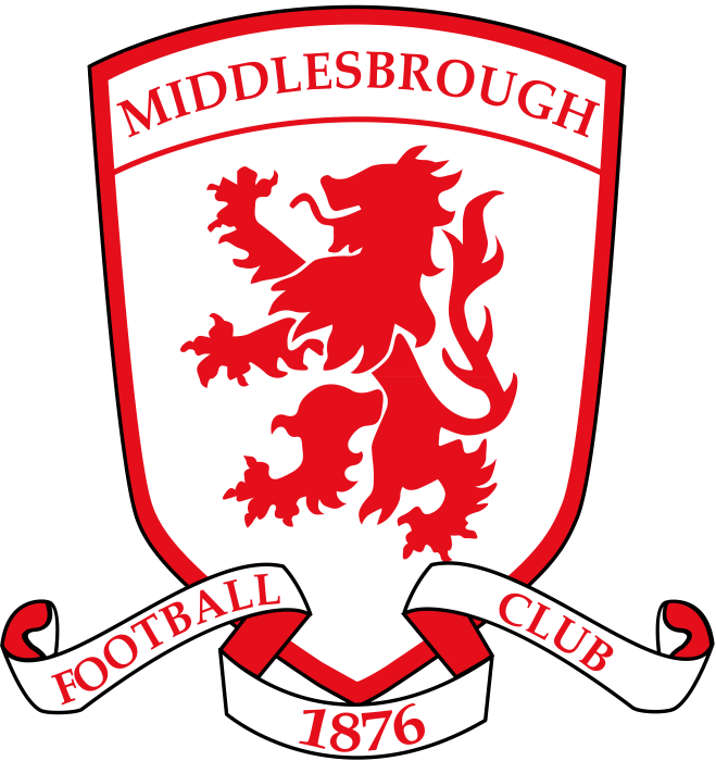 Middlesbrough logo, crest, logotype