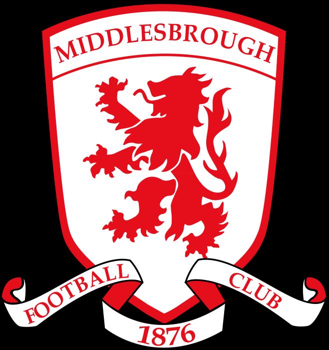 Middlesbrough logo, crest, logotype