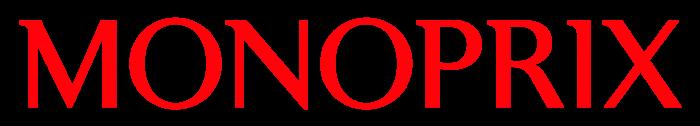 Monoprix logo, wordmark