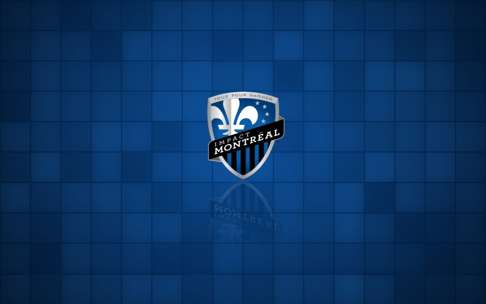 Montreal Impact wallpaper with club logo, MLS club, widescreen 1920x1200