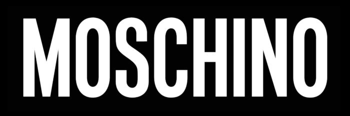 Moschino logo, black