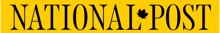 National Post logo, wordmark, yellow