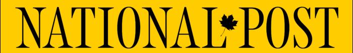 National Post logo, wordmark, yellow