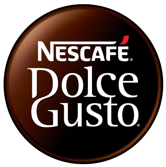 Nescafe Dolce Gusto logo, logotype, emblem