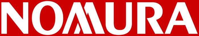 Nomura Holdings logo, red