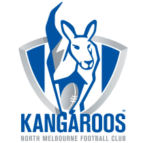North Melbourne Kangaroos logo, NM FC