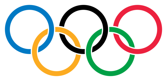 Olympic Rings logo, picture (with rims)