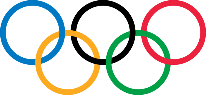 Olympic rings picture, logo, no rims