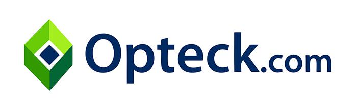 Opteck.com logo, logotype