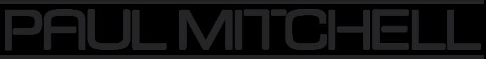 Paul Mitchell logo, gray