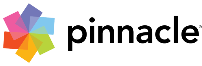 Pinnacle Systems logo, black wordmark