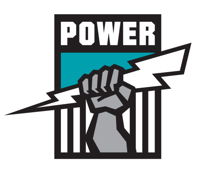 Port Adelaide Power FC logo, logotype