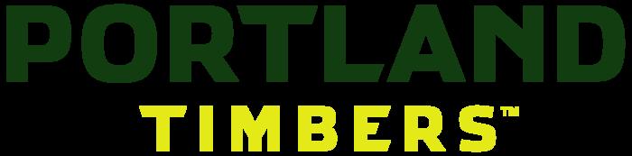 Portland Timbers logo, wordmark, MLS club