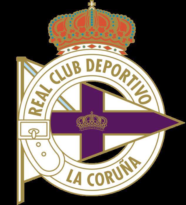 RC Deportivo La Coruña logo, logotipo, emblem